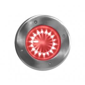 Στεγανό Led Φωτιστικό Δαπέδου 1W Κόκκινο (3-130726)