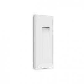Aca LED SMD επίτοιχη απλίκα Λευκή 0.7W (SLIM33W)