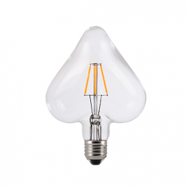 Λάμπα Filament Led Heart 6W E27 2700K Dimmable (HEART6WWDIM)