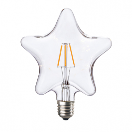 Λάμπα Filament Led Star 6W E27 2700K Dimmable (STAR6WWDIM)