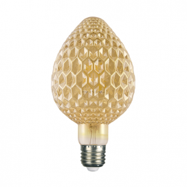Λάμπα Filament Led Amber Mava 6W E27 2700K Dimmable (MAVA6WWDIMAM)