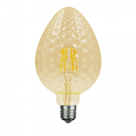 Λάμπα Filament Led Amber Tera 6W E27 2700K Dimmable (TERA6WWDIMAM)