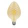 Λάμπα Filament Led Amber Tera 6W E27 2700K Dimmable (TERA6WWDIMAM)