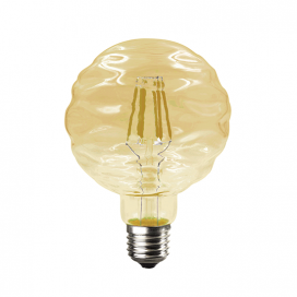 Λάμπα Filament Led Amber Waft 6W E27 2700K Dimmable (WAFT6WWDIMAM)