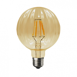 Λάμπα Filament Led Amber Bari 6W E27 2700K Dimmable (BARI6WWDIMAM)