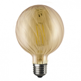 Λάμπα Filament Led Amber Bria 6W E27 2700K Dimmable (BRIA6WWDIMAM)