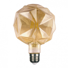 Λάμπα Filament Led Amber Lilac 6W E27 2700K Dimmable (LILAC6WWDIMAM)