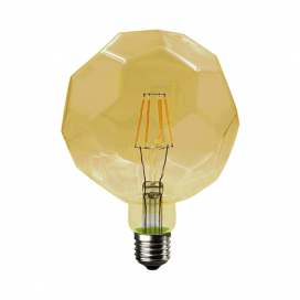 Λάμπα Filament Led Amber Lig 6W E27 2700K Dimmable (LIG6WWDIMAM)