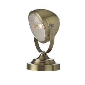 Aca Επιτραπέζιο Φωτιστικό Ορειχάλκινο (ML306131TBR)