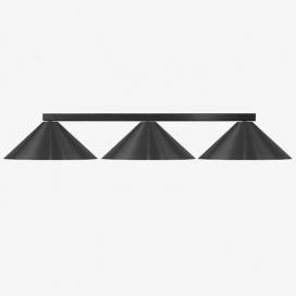 Luma Μοντέρνο Τρίφωτο Φωτιστικό - Ράγα (100-09620-08)