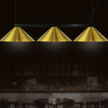 Luma Μοντέρνο Τρίφωτο Φωτιστικό - Ράγα