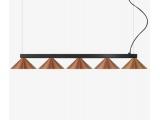 Luma Μοντέρνο Πεντάφωτο Φωτιστικό - Ράγα (100-09620-12)