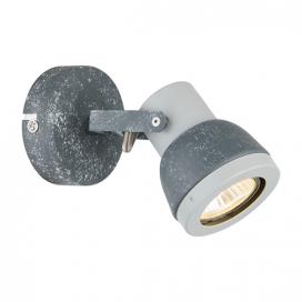 Aca Μονόφωτο Φωτιστικό Οροφής - Τοίχου Γκρι - Απόχρωση Τσιμέντου (MC167791C)