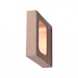 Aca Led Επιτοίχιο Φωτιστικό 6W 3000K Σκούρο Χρυσό (ZD80856LEDGD)