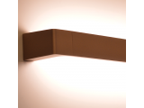 Aca Led Επιτοίχιο Φωτιστικό 12W 3000K Σκούρο Χρυσό (ZD810412LEDGD)