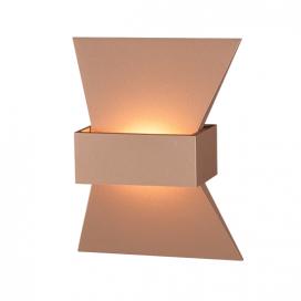 Aca Led Επιτοίχιο Φωτιστικό 6W 3000K Σκούρο Χρυσό (ZD81166LEDGO)