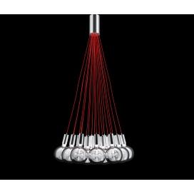 Luma Μοντέρνο Πεντάφωτο Φωτιστικό Οροφής (100-09600-07)
