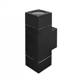 Επιτοίχιο Σποτ Αλουμινίου Up-Down Μαύρο (3-906121)