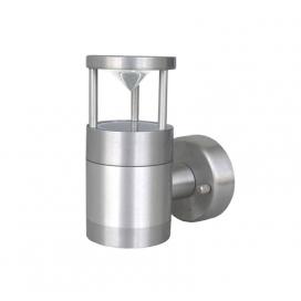 Επιτοίχιο Φωτιστικό Αλουμινίου Σατινέ (9-910666)