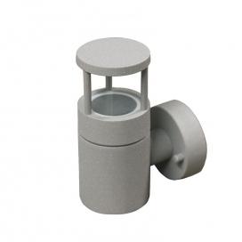 Επιτοίχιο Φωτιστικό Αλουμινίου Γκρι (9-91066)