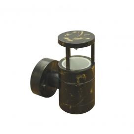 Επιτοίχιο Φωτιστικό Αλουμινίου Πατίνα (9-910679)