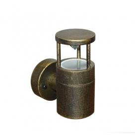 Επιτοίχιο Φωτιστικό Αλουμινίου Ρουστίκ (9-910671)