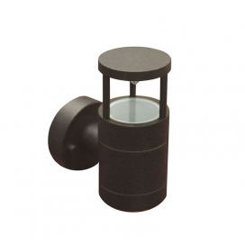 Επιτοίχιο Φωτιστικό Αλουμινίου Σαγρέ Σκουριά (9-910681)