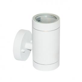 Aca Απλίκα Αλουμινίου GU10 Λευκή (HI7032AW)