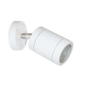 Aca Επιτοίχιο Κινητό Σποτ Αλουμινίου Λευκό (HI7033AW)