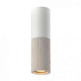 Aca Φωτιστικό Τοίχου - Οροφής Γκρι - Λευκό (V372581CCW)