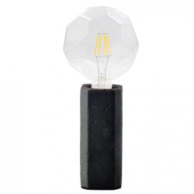 Aca Επιτραπέζιο Φωτιστικό Μαύρο (V372011TBK)