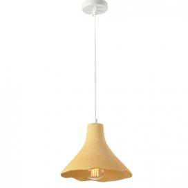 Aca Μονόφωτο Κρεμαστό Φωτιστικό Κίτρινο (V372291PYW)