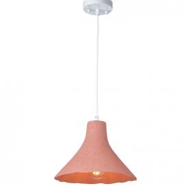 Aca Μονόφωτο Κρεμαστό Φωτιστικό Ροζ (V372291PPK)