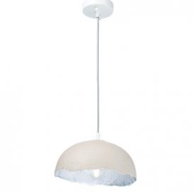 Aca Μονόφωτο Κρεμαστό Φωτιστικό Λευκό Ø25 (V3729251PWS)