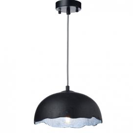 Aca Μονόφωτο Κρεμαστό Φωτιστικό Μαύρο Ø25 (V3729251PBS)