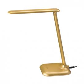 Aca Led Φωτιστικό Γραφείου Χρυσό (SF1408LED640G)