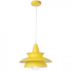 Aca Μονόφωτο Φωτιστικό Οροφής Κίτρινο (KS07881PYW)
