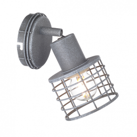 Aca Μονόφωτο Φωτιστικό Οροφής - Τοίχου Απόχρωση Τσιμέντου (GN731CCE)