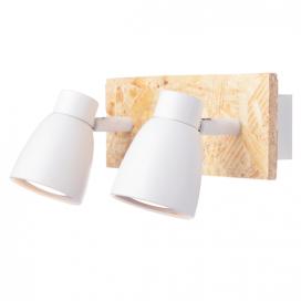 Aca Δίφωτο Φωτιστικό Οροφής - Τοίχου Λευκό (GN542CWW)