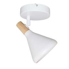 Aca Μονόφωτο Φωτιστικό Οροφής - Τοίχου Λευκό (GN281CWH)