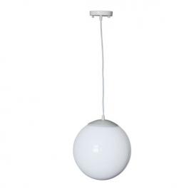 Ακρυλική Κρεμαστή Μπάλα με Ανάρτηση Λευκή (AC.18250KOP)