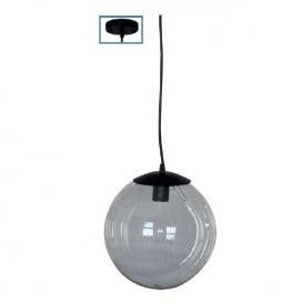 Ακρυλική Κρεμαστή Μπάλα με Ανάρτηση Διαφανής (AC.18250KCL)
