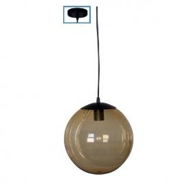 Ακρυλική Κρεμαστή Μπάλα με Ανάρτηση Κεχριμπάρι (AC.18250KGO)