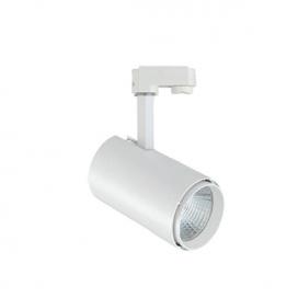 Aca Σποτ ράγας LED COB 2 καλωδίων 30W 4000K Λευκό (IDA3040W2)