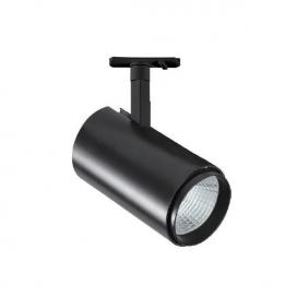 Aca Σποτ ράγας LED COB 4 καλωδίων 30W 3000K Μαύρο (IDA3030B4)