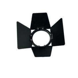 Μαύρο πλαίσιο με πτερύγια για φωτιστικό ράγας IDA (IDASB)