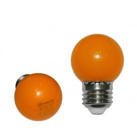 Λάμπα Led SMD 2W E27 Πορτοκαλί (13-27023)