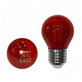 Λάμπα Led SMD 4W E27 Κόκκινη (13-27142)