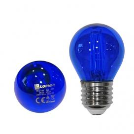 Λάμπα Led COG 4W E27 Μπλε (13-27144)