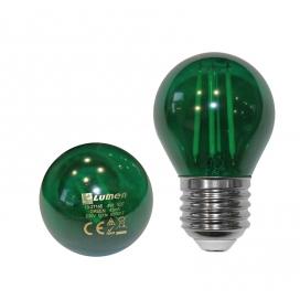 Λάμπα Led COG 4W E27 Πράσινη (13-27145)